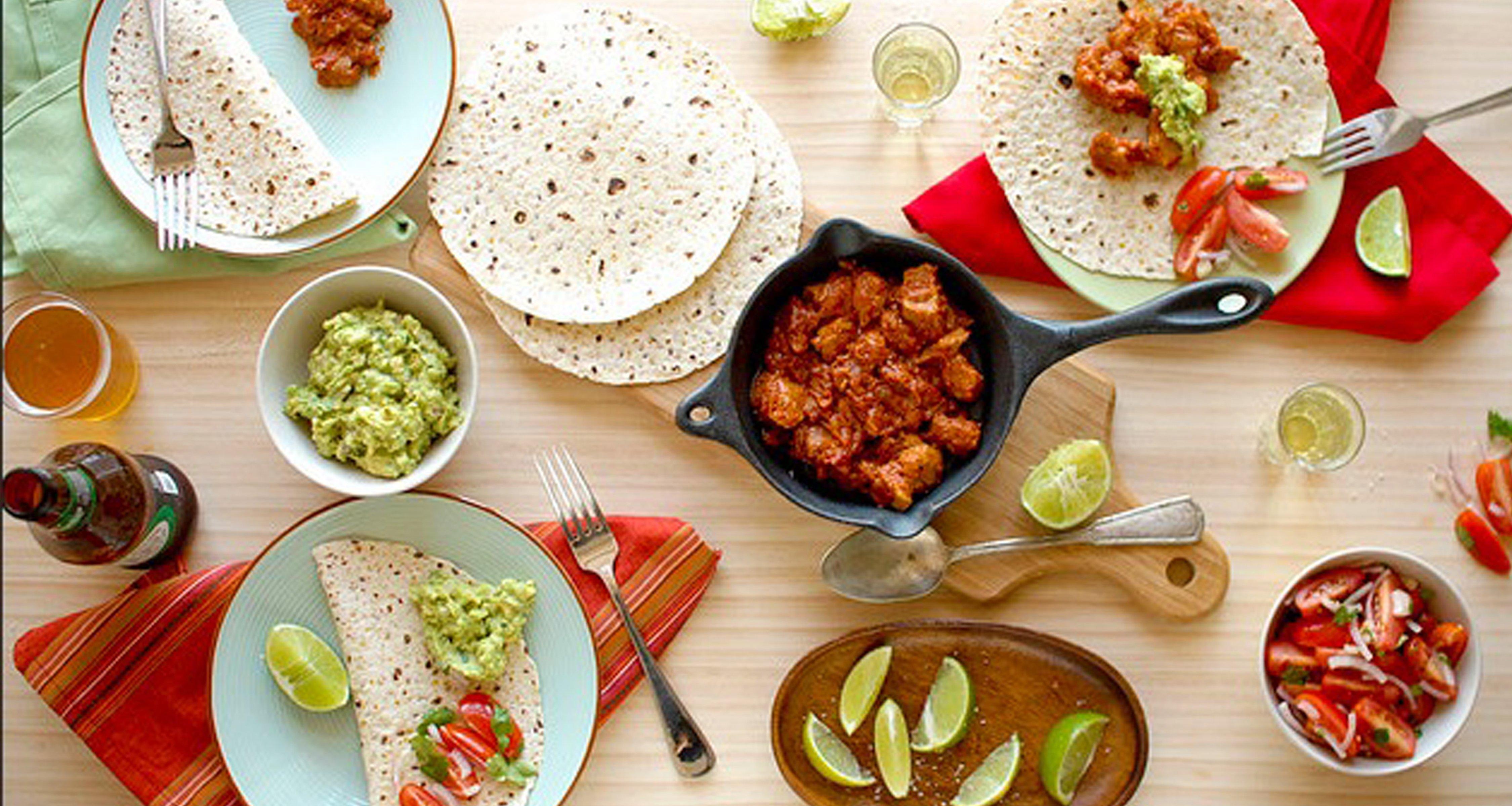 Mexican Food Wallpaper 4500x2400