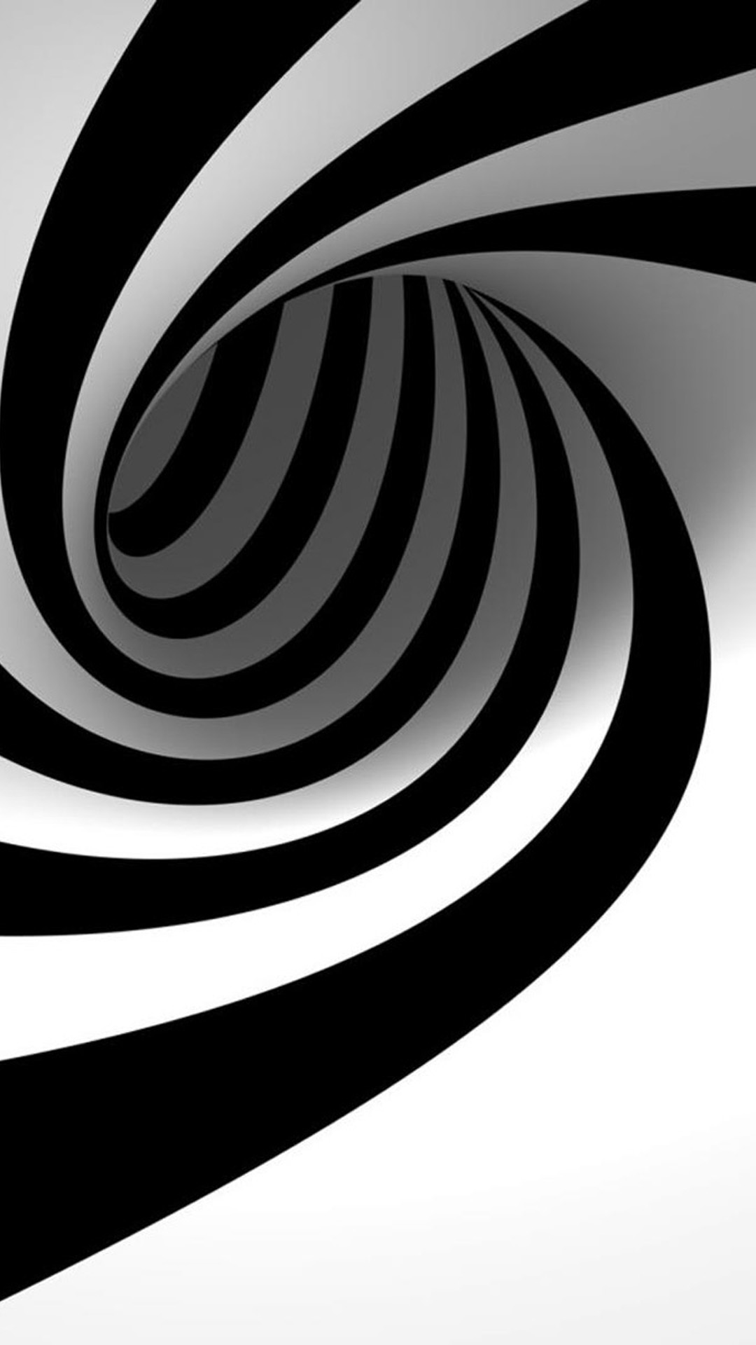Black And White Swirl iPhone 6 Wallpaper Download iPhone Wallpapers 1080x1920