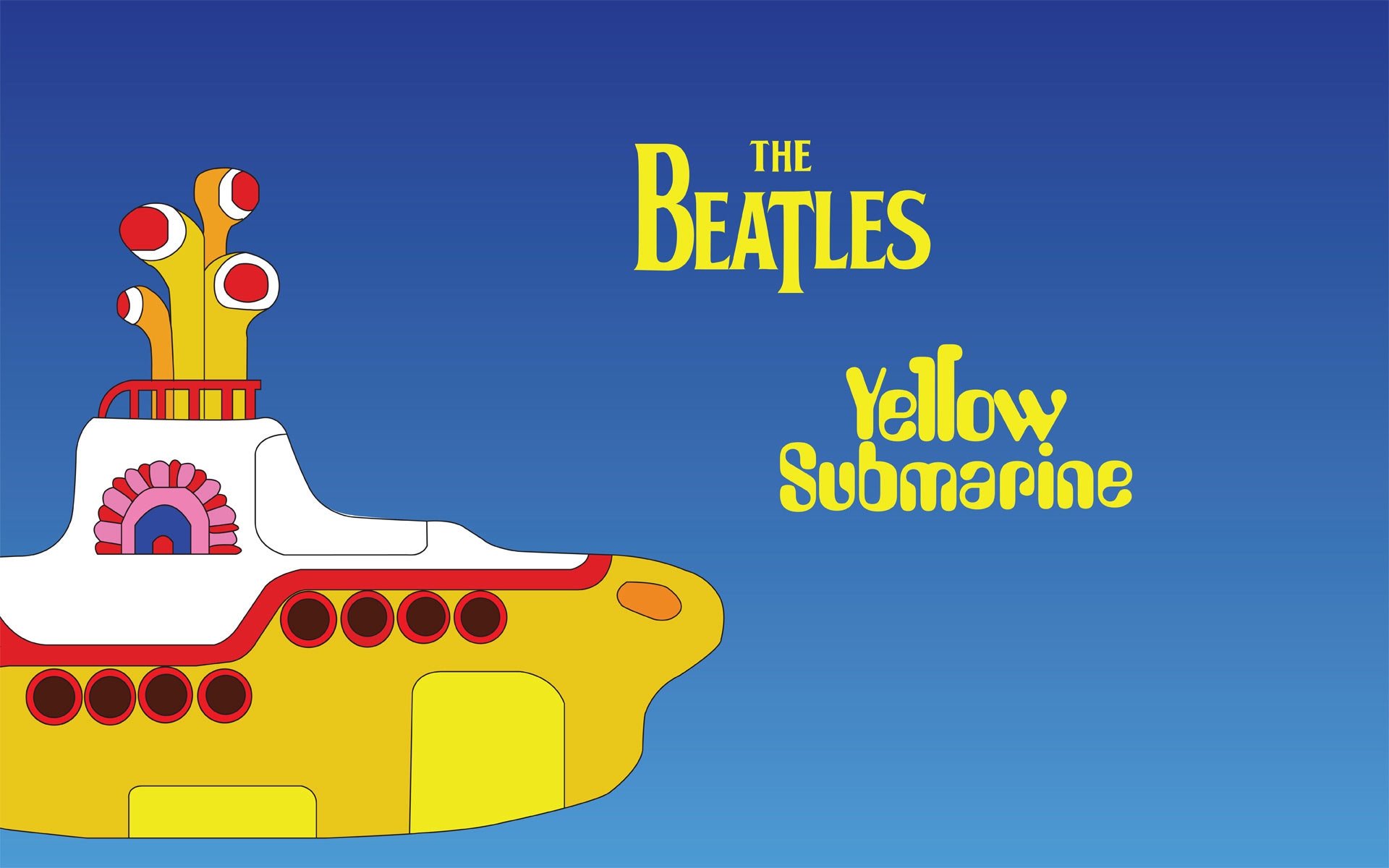 Yellow Submarine The Beatles   downloads backgrounds wallpapers 1920x1200