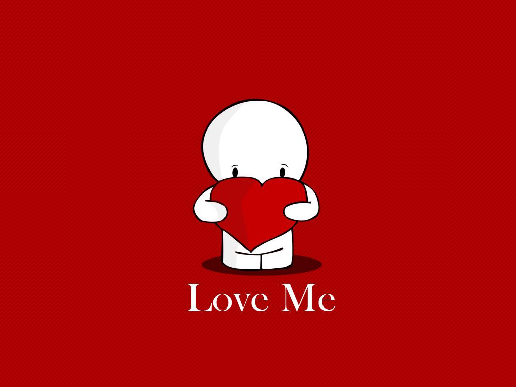 valentines day wallpaper love me 1024x768jpg 1024x768