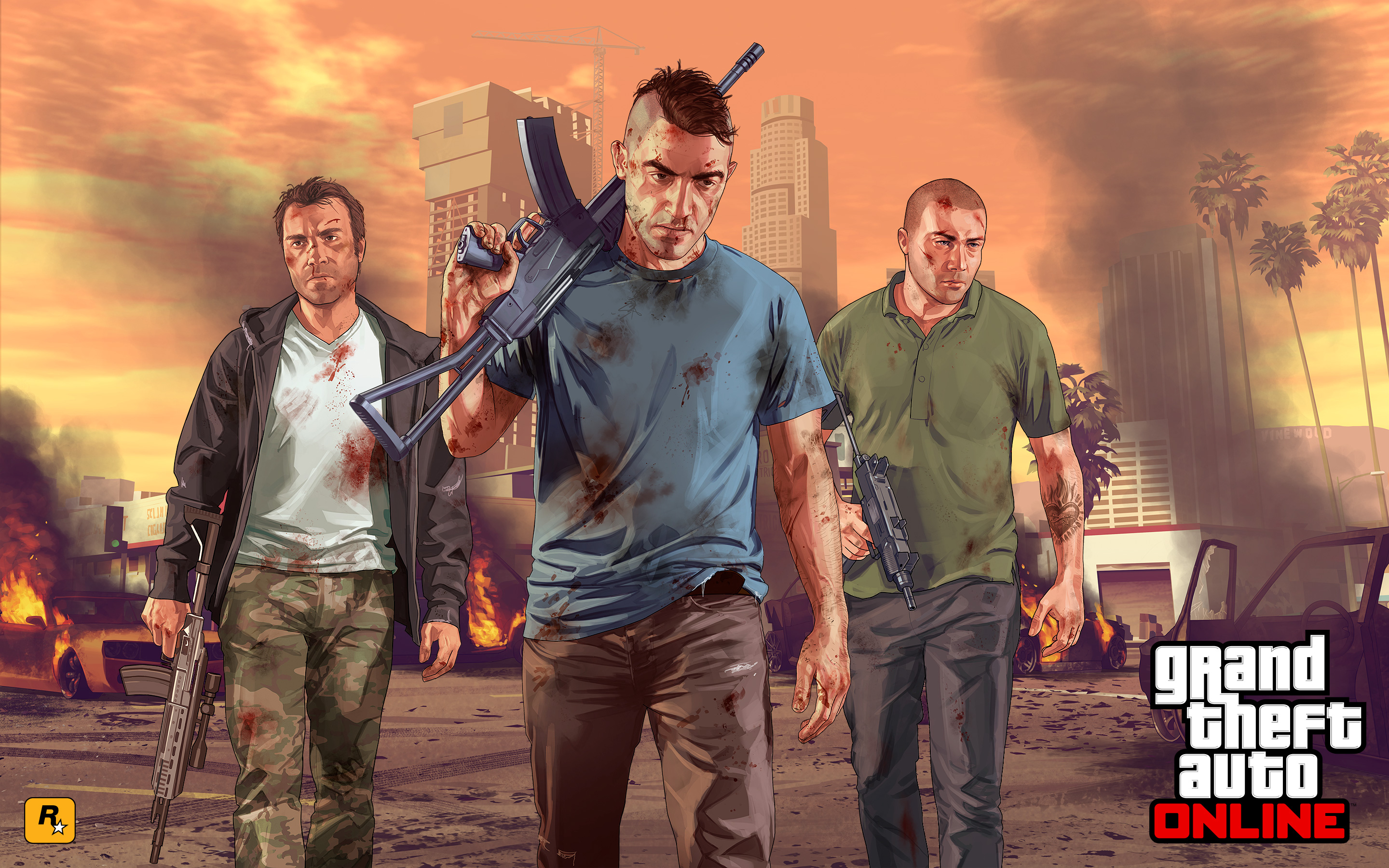 GTA 5 Last Team Standing Wallpapers HD Wallpapers 2880x1800