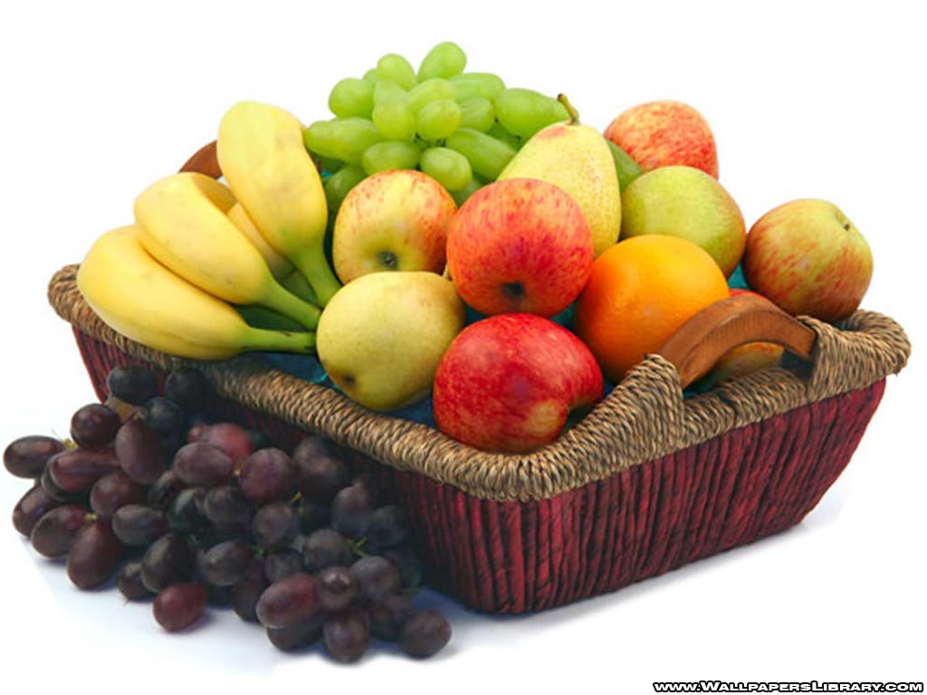 fruit basket wallpaperjpg 1024x768