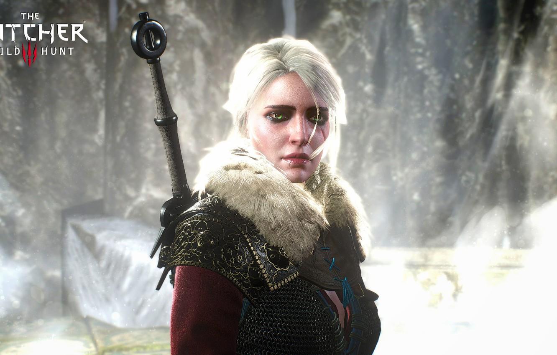 Wallpaper girl sword The Witcher 3 Wild Hunt Wild Hunt 1332x850