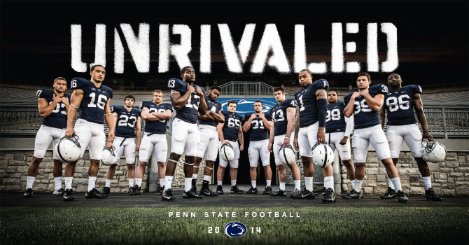 Penn State Football Unrivaled Posters Available Now   Football   Penn 670x350