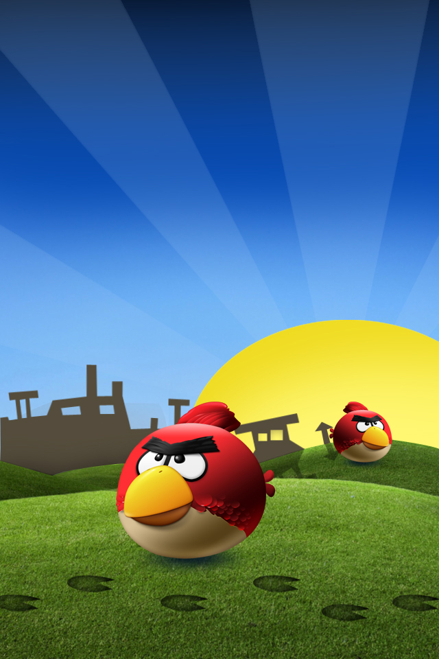 free 640X960 Angry Birds Angry 640x960 wallpaper screensaver preview 640x960