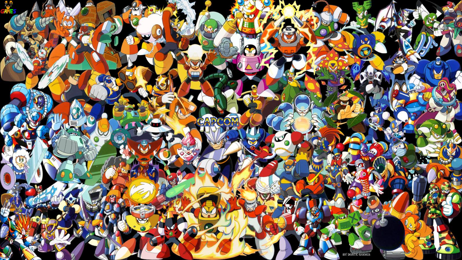 megaman wallpaper 1080p   wallpapersafari