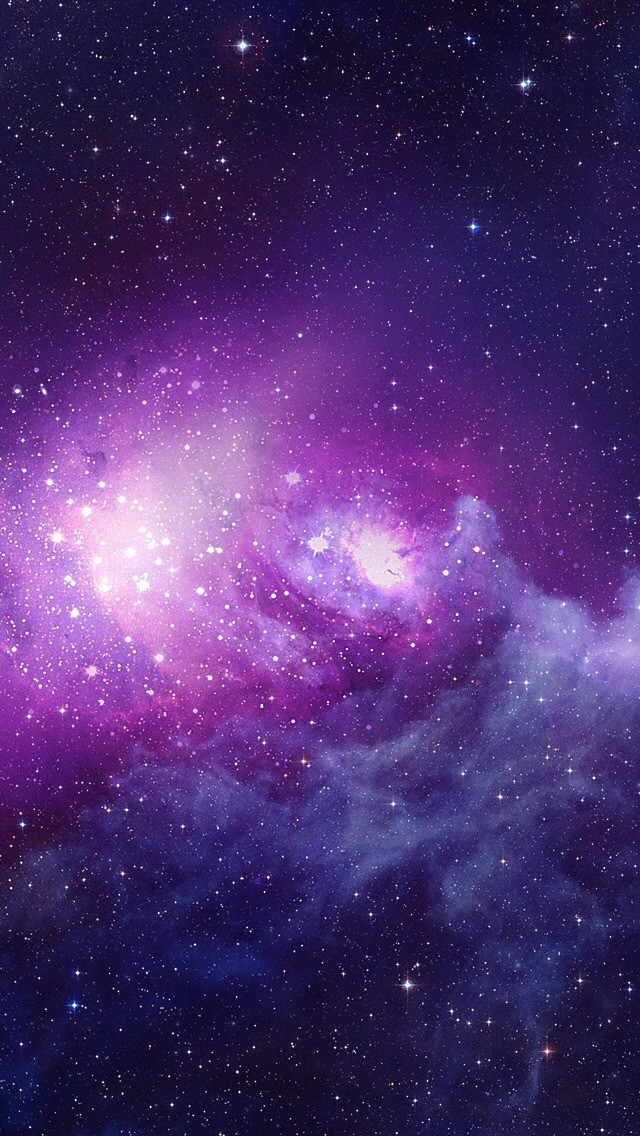 iPhone 5 Wallpapers Purple galaxy iPhone 640x1136
