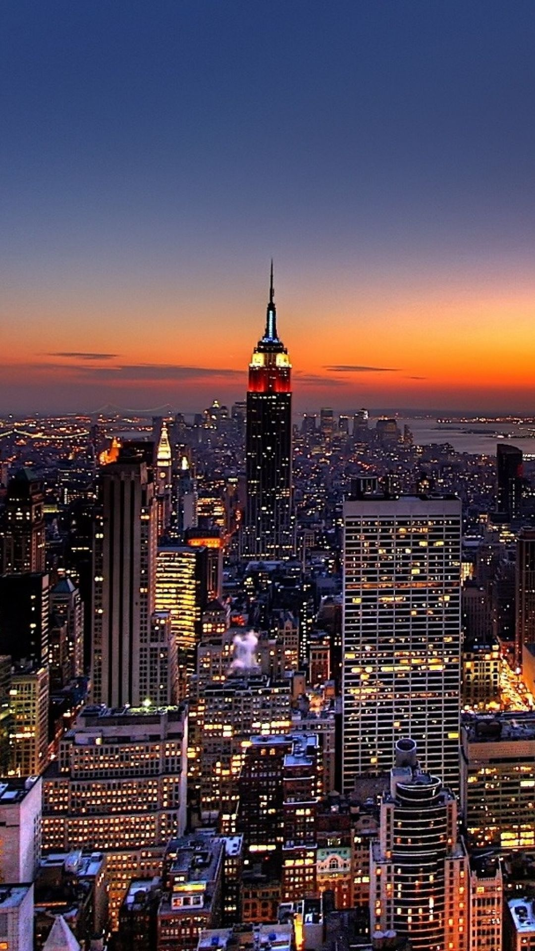 27 New York City Wallpaper At Night On Wallpapersafari