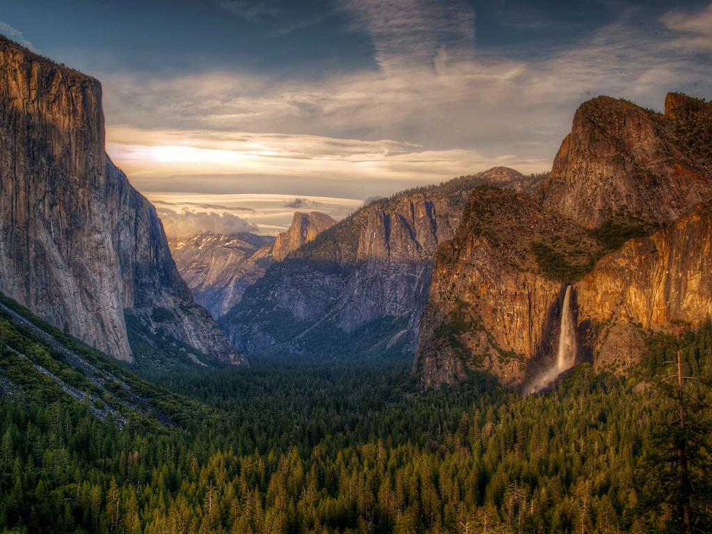 Yosemite National Park wallpaper HD Desktop Wallpaper 1024x768