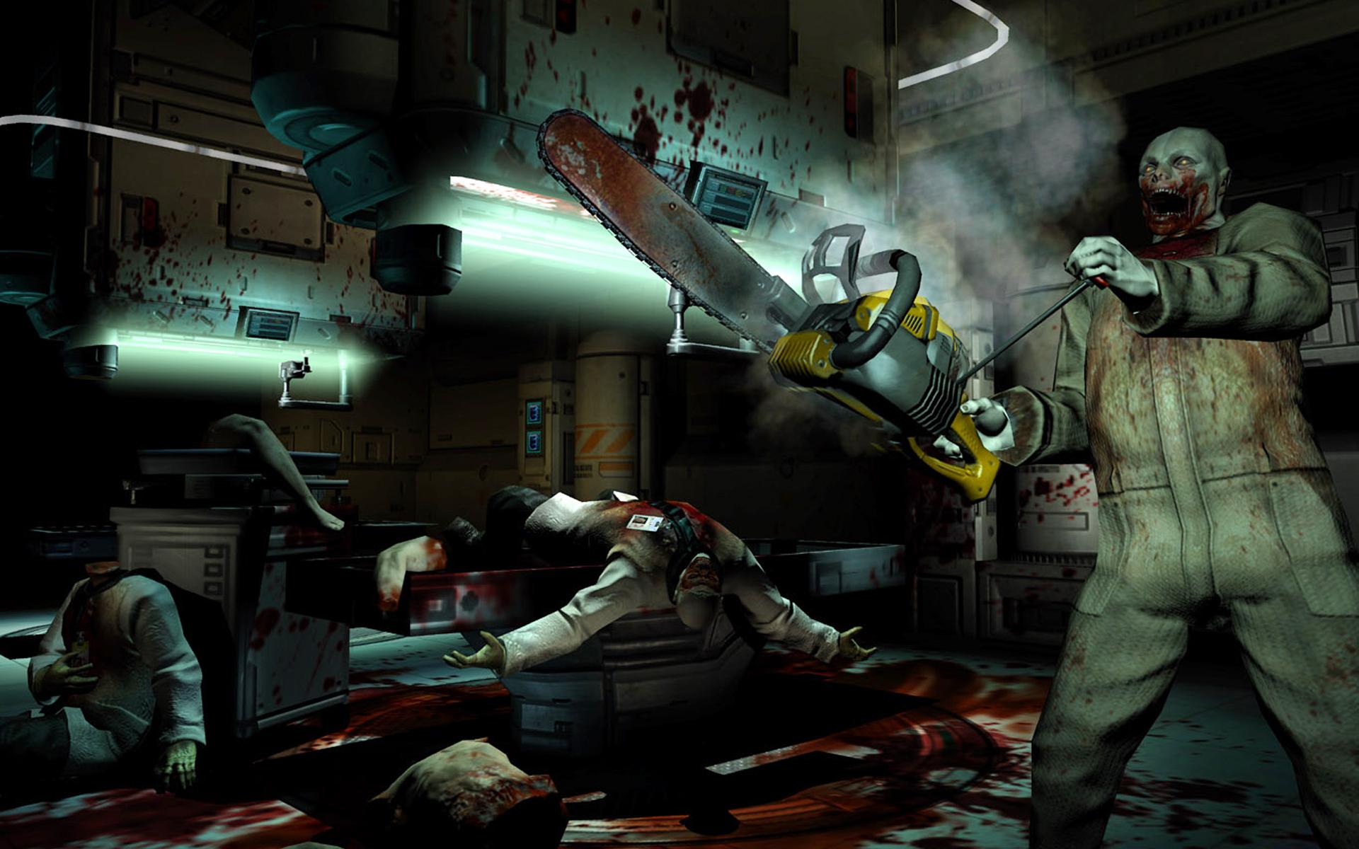 Doom 3 Chainsaw HD Wallpaper 1920x1200