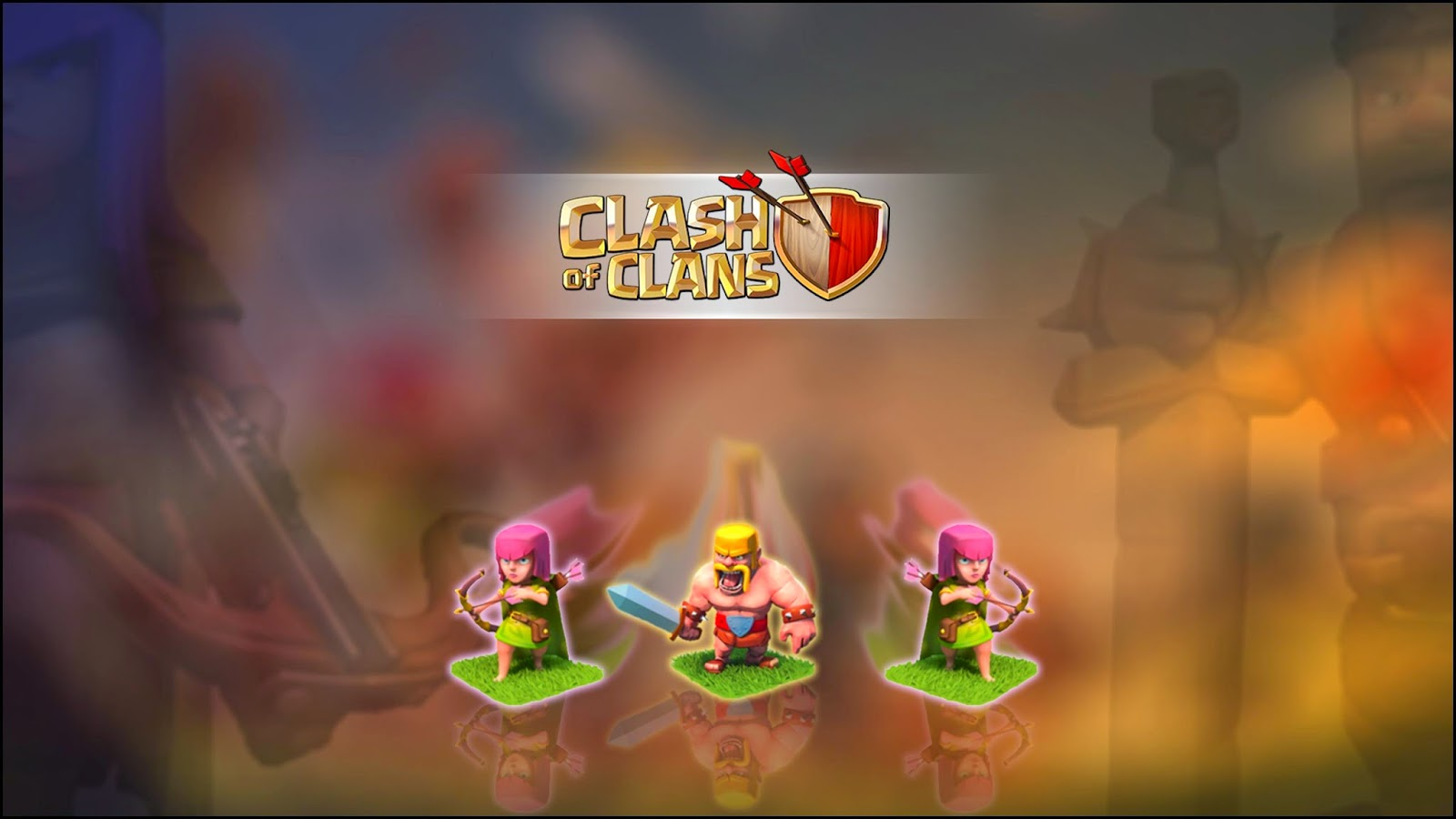 CLASH OF CLAN 1600x900
