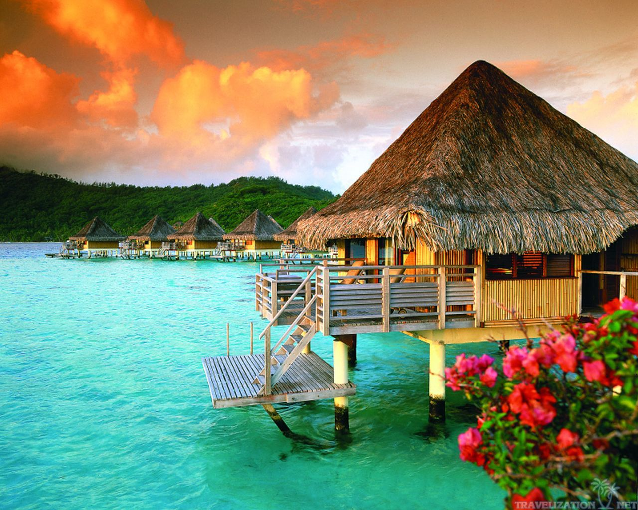 Absolutely Awesome Bora Bora Wallpapers Travelization 1280x1024