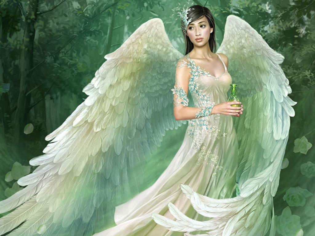 Beautiful Angel   Angels Wallpaper 24919961 1024x768