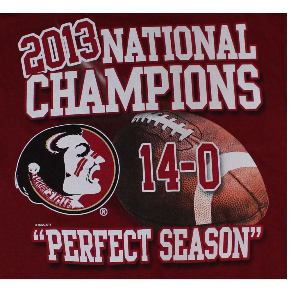 Details about Florida State Seminoles FSU 2013 BCS National Champions 1001x1001