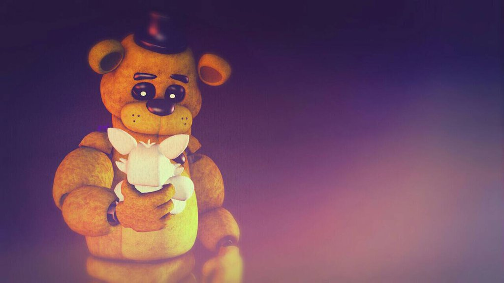 Golden Freddy x Mangle by TheKatyaNext 1024x576