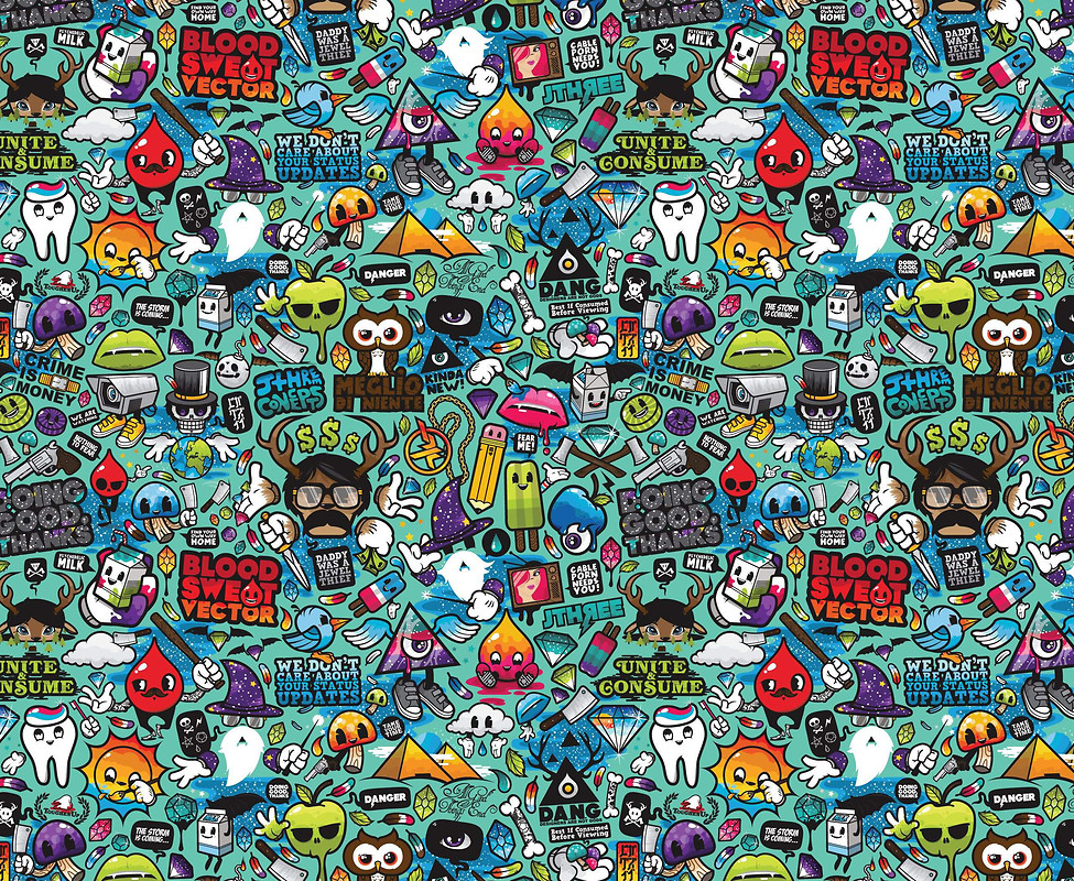 Doodle Wallpapers - WallpaperSafari