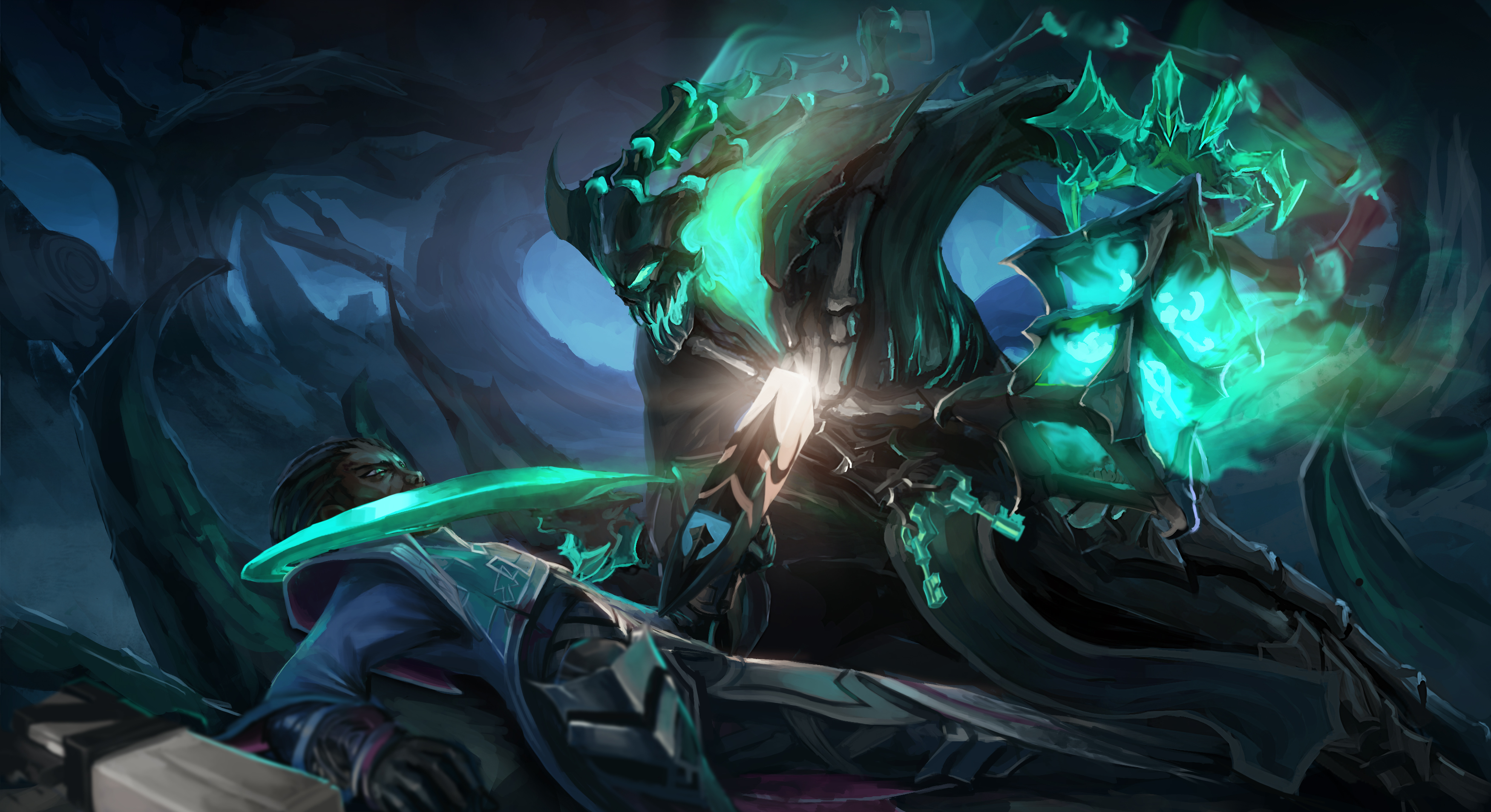 19 Lucian League Of Legends HD Wallpapers Background Images 3500x1906