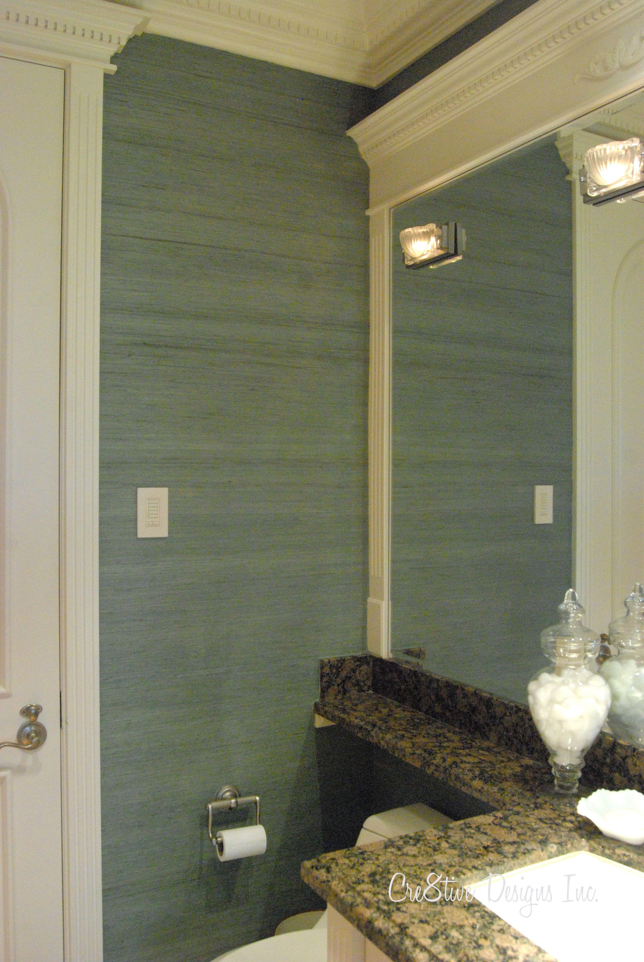 50 Grasscloth Wallpaper For Bathroom On Wallpapersafari