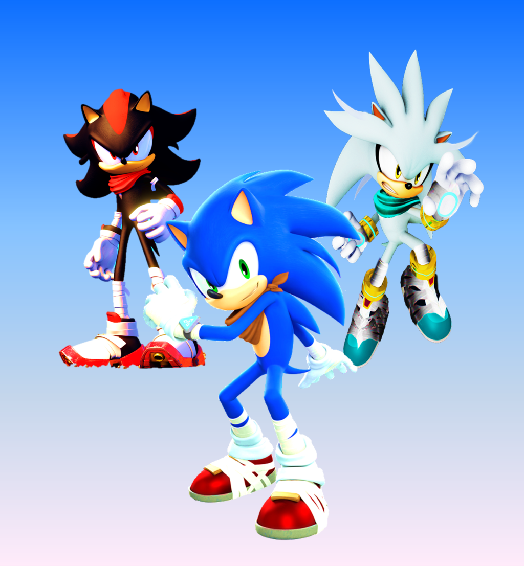 Sonic Shadow And Silver Wallpapers