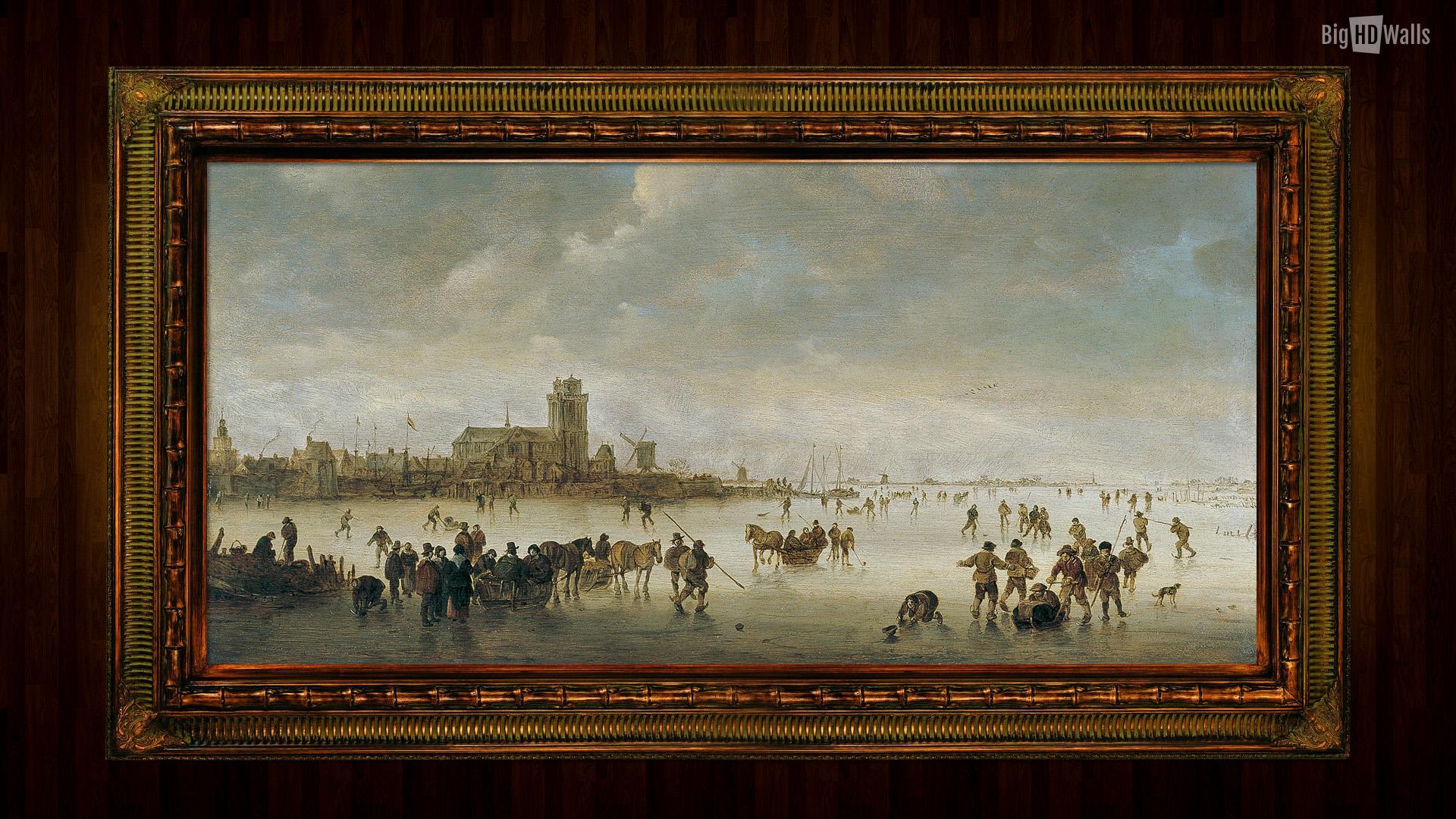 Jan Josephszoon van Goyen was a prolific Dutch landscape painter He 1920x1080