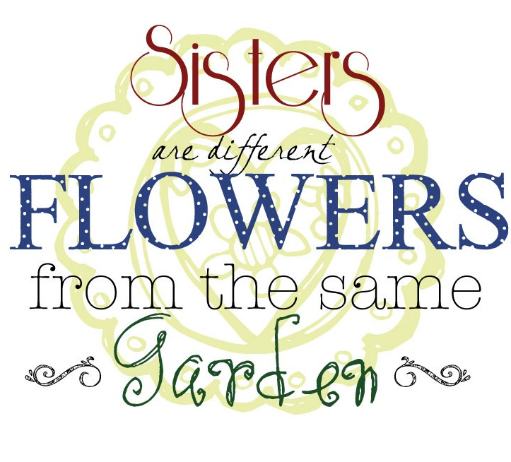 Sisters Love Quotes: Sisters Wallpaper