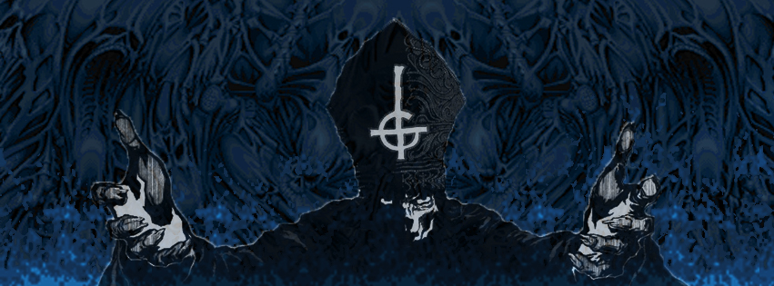 Ghost Band Wallpaper A band called ghost 851x315