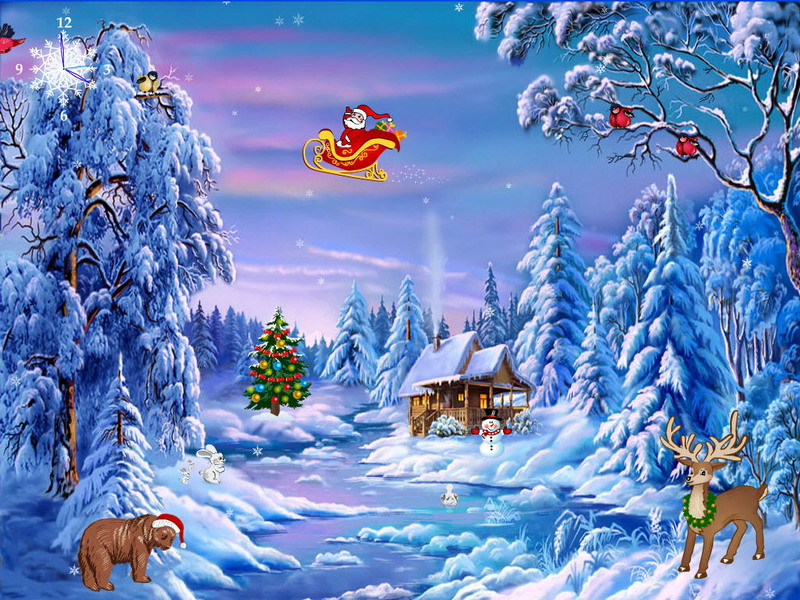 Christmas Screensaver   Christmas Symphony   FullScreensaverscom 800x600