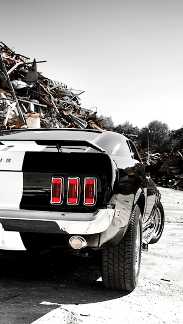 Ford Mustang iPhone 5 Wallpaper 640x1136 640x1136