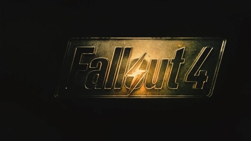 Fallout 4 Logo HD Wallpaper   WallpaperFX 804x452