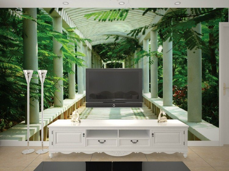 ID 1933744361 Custom 3d television wallpaper mural wallpaper bedroom 750x562