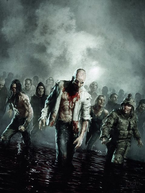 Zombie Apocalypse Wallpaper HD - WallpaperSafari
