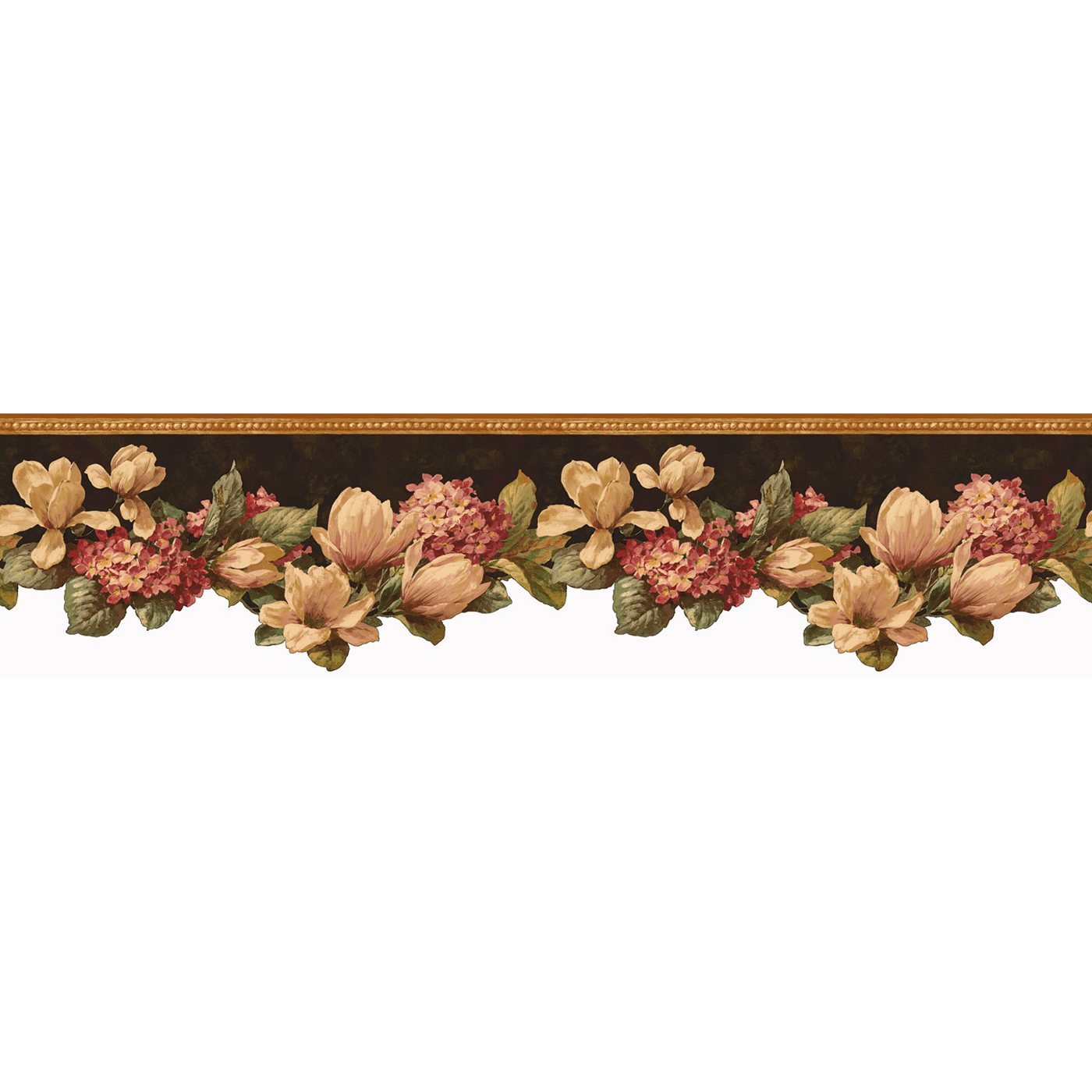 FFM10301B French Flea Market Magnolia Wallpaper Border ATG Stores 1400x1400