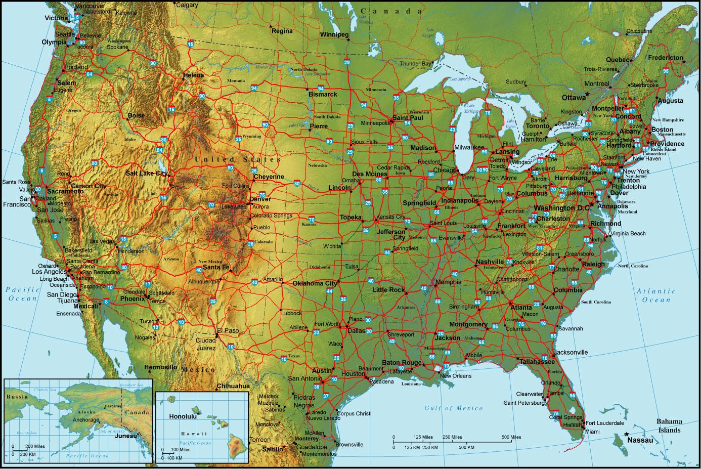 Map United States Prochip Jo High Resolution Hd Wallpaper World