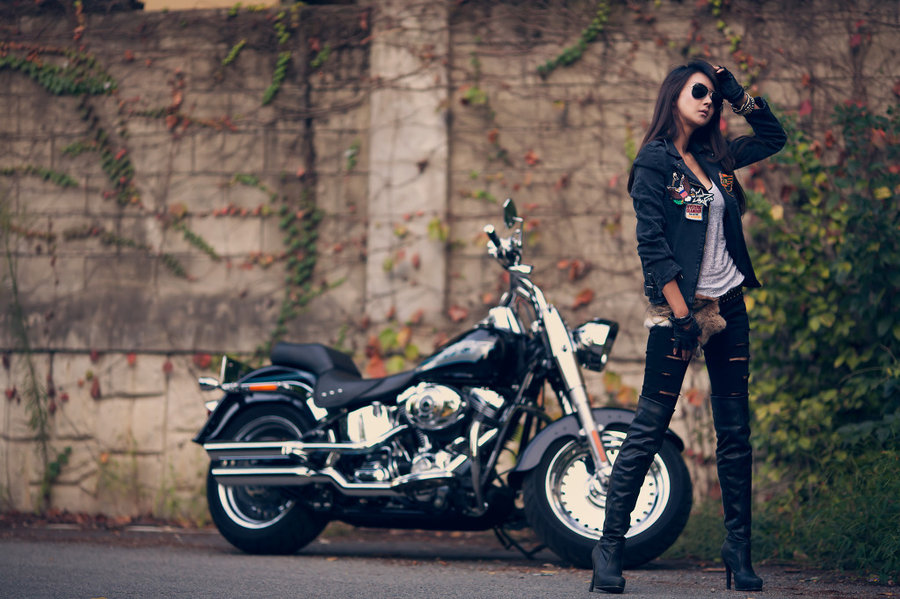 Outlaw Biker by ParkLeggyKorean 900x599