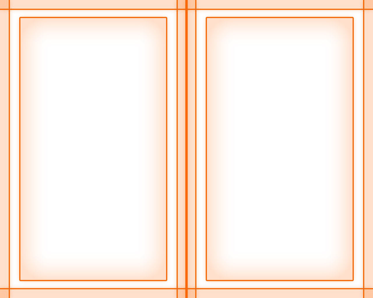 Book Pages Orange Border Wallpaper 1280x1024
