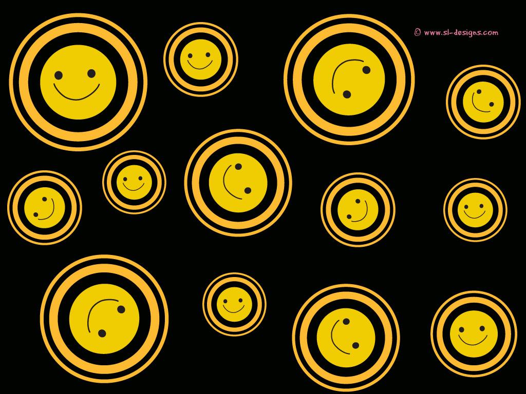 Smiley face wallpaper Wallpaper Wide HD 1024x768