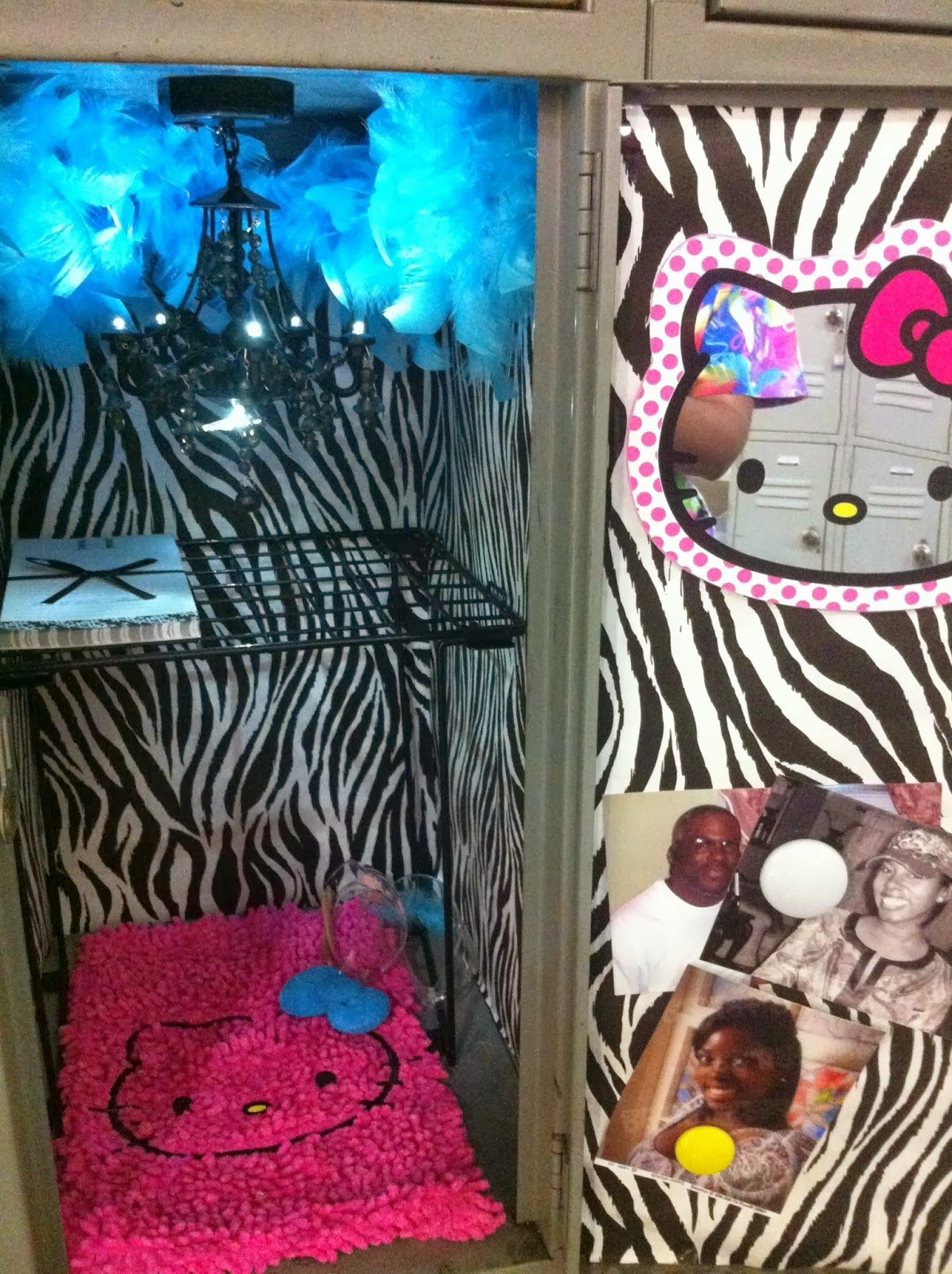 Simple Living At Home Girly Locker On A Budget 1195x1600