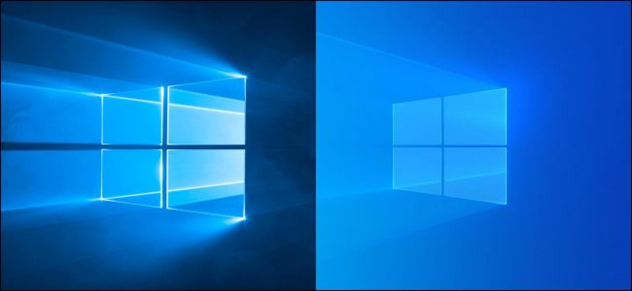 How to Get Windows 10s Old Default Desktop Background Back 1300x600
