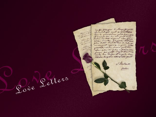 Love Letters Wallpaper Walltor 640x480