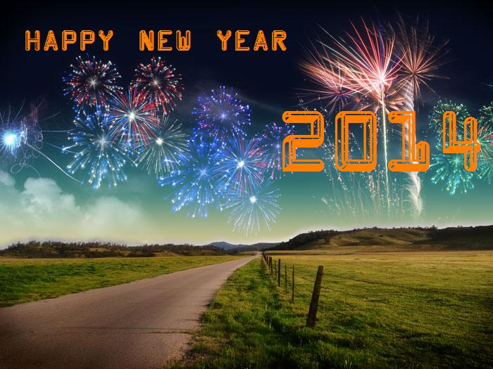 Celebrations New Year Wallpapers 2014 700x525