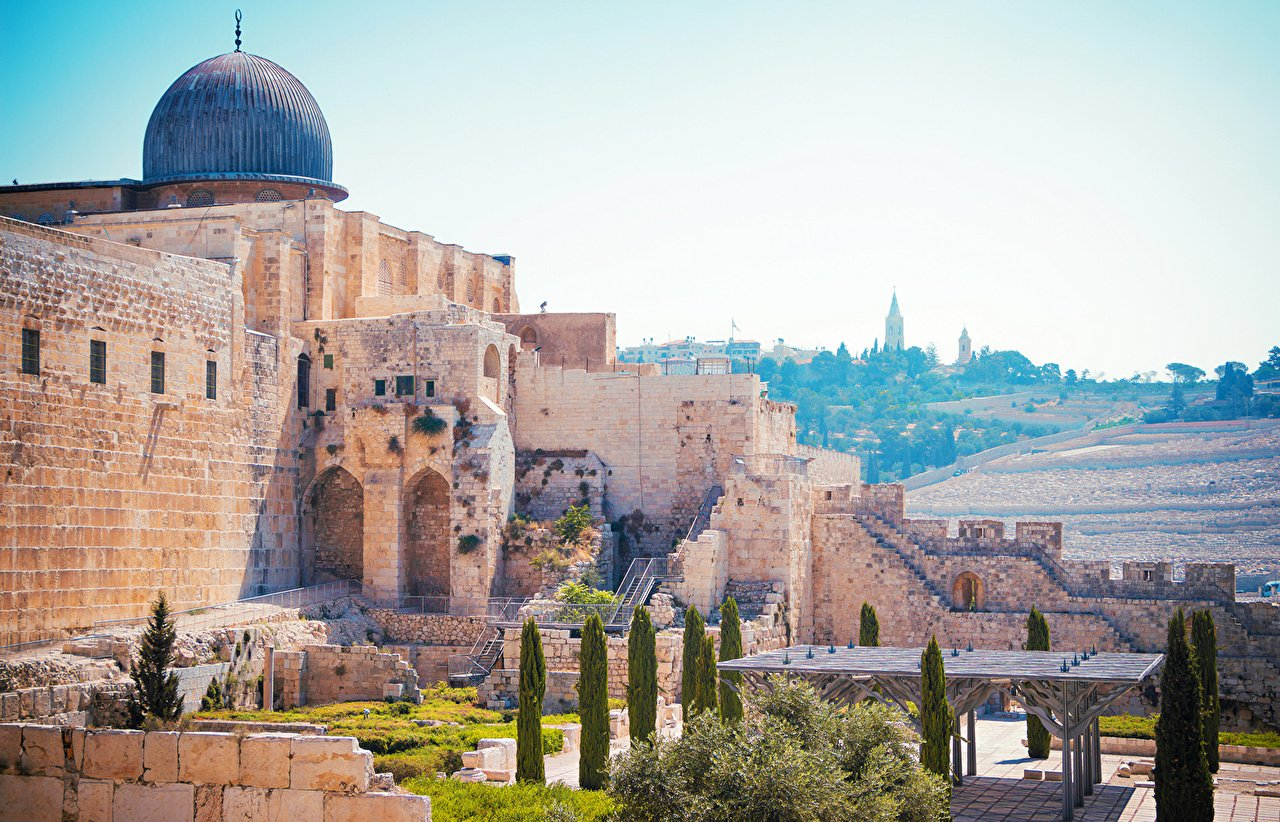 Wallpapers Israel Jerusalem Temples Cities 1280x822