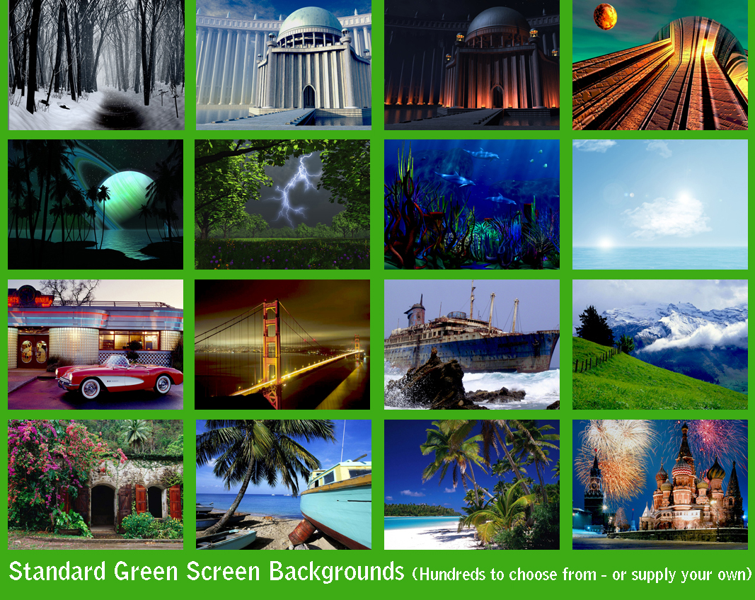how to get rid of green screen after effects