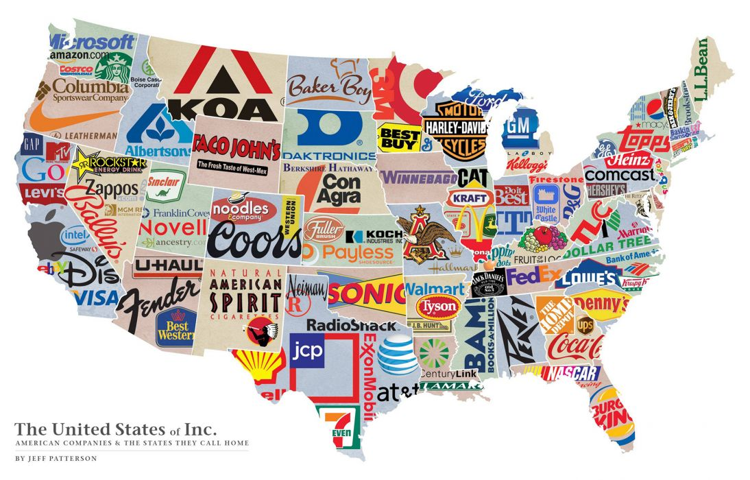 Corporations America United States White products labels text maps 1094x700