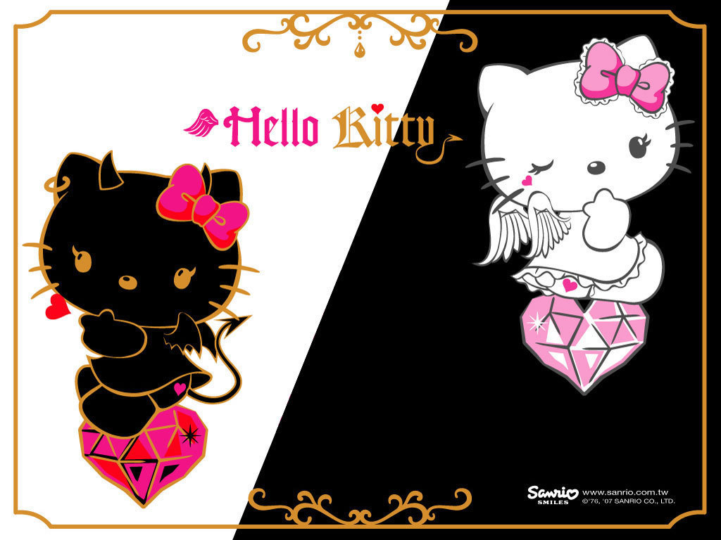 Hello Kitty Wallpaper   Hello Kitty Wallpaper 8256538 1024x768