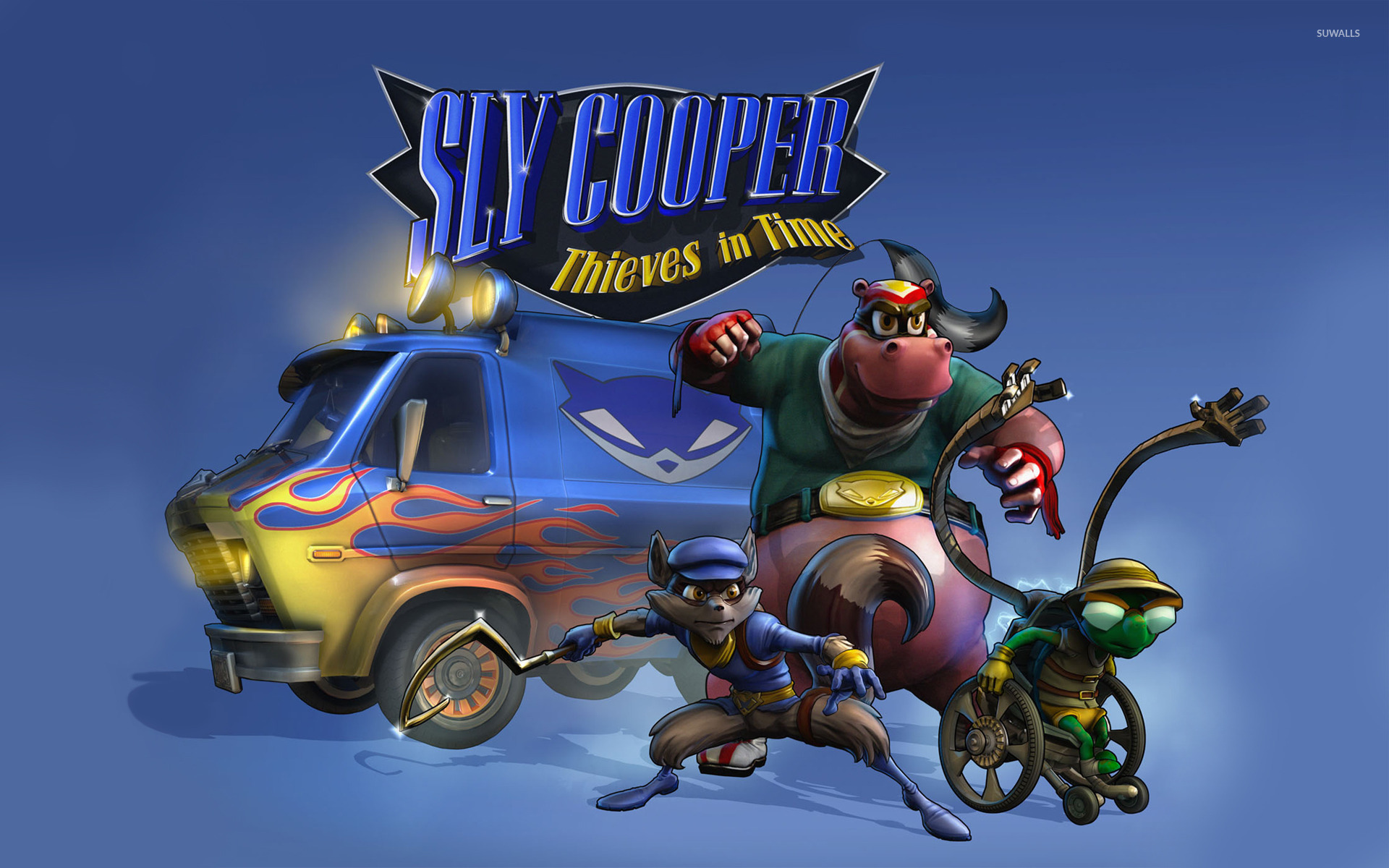 Sly Cooper Thieves in Time wallpaper   Game wallpapers   17526 1280x800