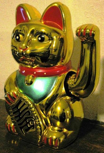 Pin Cat Waving Hand Wallpaperdesktop Background In 1366x768 Hd on 442x645