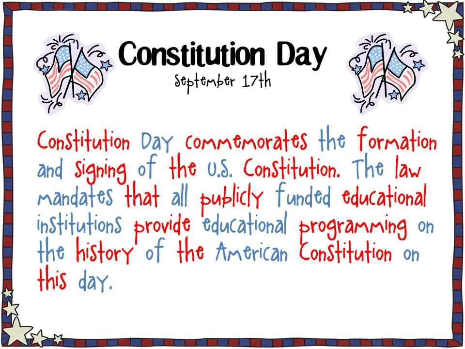 30 Most Wonderful Constitution Day 2018 Greetings Pictures And 960x720