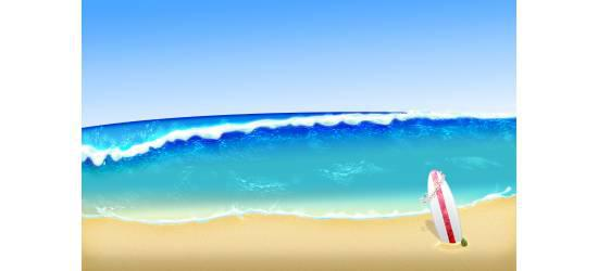 Beach Wallpaper Background Number 1 Preview 550x250
