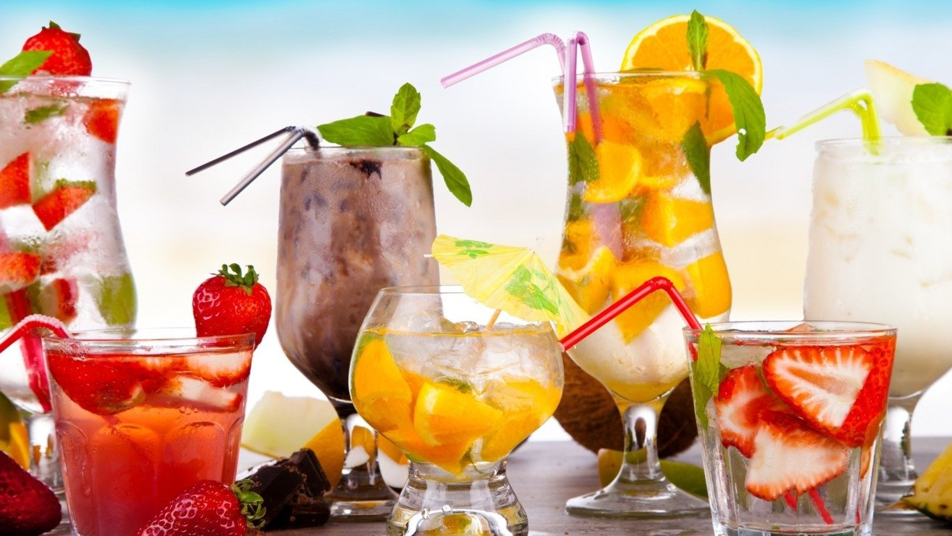 summer drinks wallpaper wallpapersafari