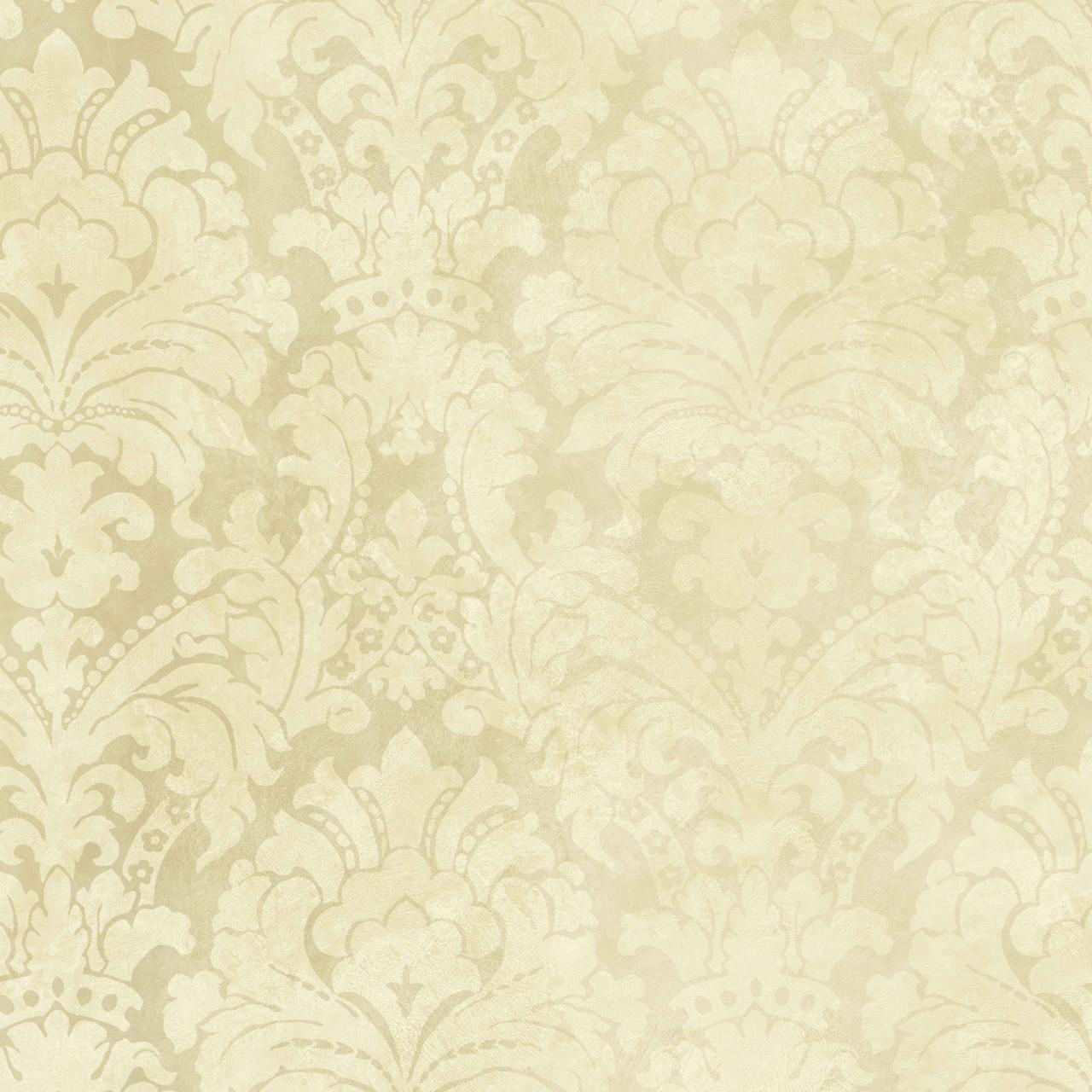 Tan Beige HAV40842 Palace Damask Wallpaper 1280x1280